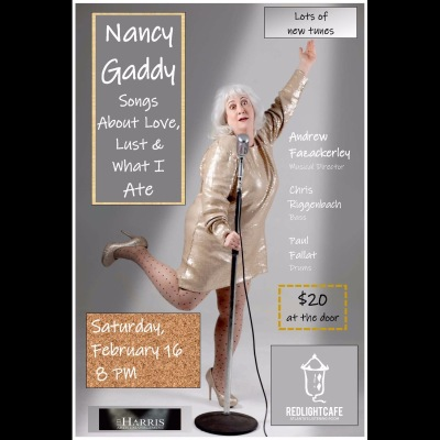 An Evening With Nancy Gaddy At Red Light Cafe Atlanta Ga Feb 16 2019 Square